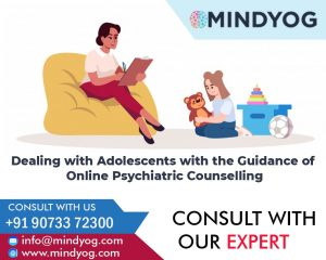 Dealing with Adolescents with the Guidance of Online Psychiatric Counselling