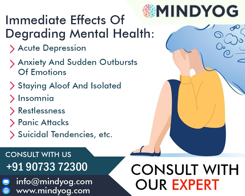effects of degrading mental health